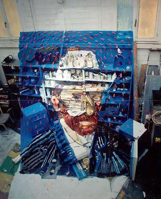 Obras de arte hechas con material reciclado Vangogh