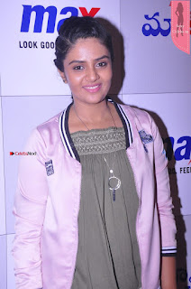 Sri Mukhi in Denim and Jacket at Max Summer Collection Launch Exclusive 8th April 2017