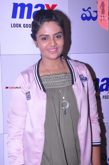 Sri Mukhi in Denim and Jacket at Max Summer Collection Launch  Exclusive 003.JPG
