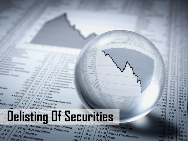 DELISTING OF SECURITIES - MEANING, ROUTES & ITS CAUSES | Vyas Infotech