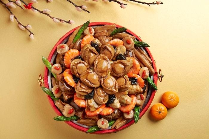Lunar New Year 2019, auspicious foods, restaurants in Singapore, hotels in Singapore