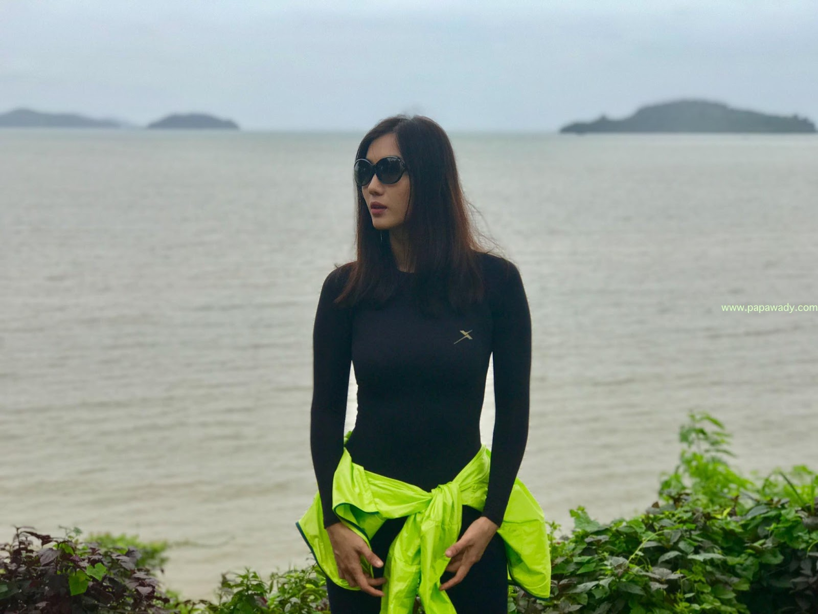 Lu Lu Aung Says Goodbye To Kaw Thaung and shares some beautiful photos