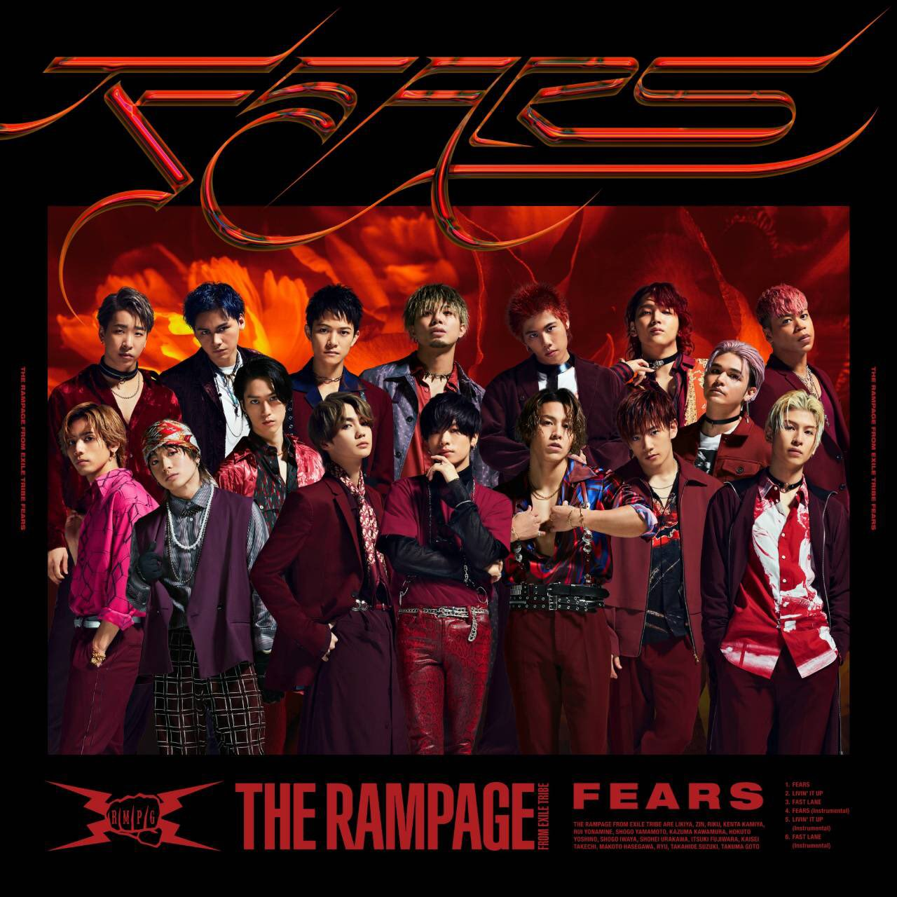 THE RAMPAGE from EXILE TRIBE - LIVIN' IT UP [2020.09.11+MP3+RAR]