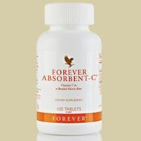 Хранителна добавка с витамин С и овесени трици /Forever Absorbent-C/