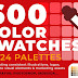 600 Color Swatches