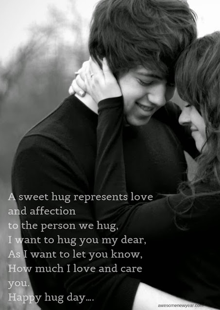 Best Happy Hug Day Wishes to send your Girlfriend, Boyfriend or Husband