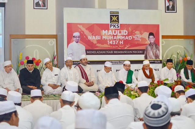 Berbagai Ormas Islam Hadiri Maulid Nabi di Markas PKS