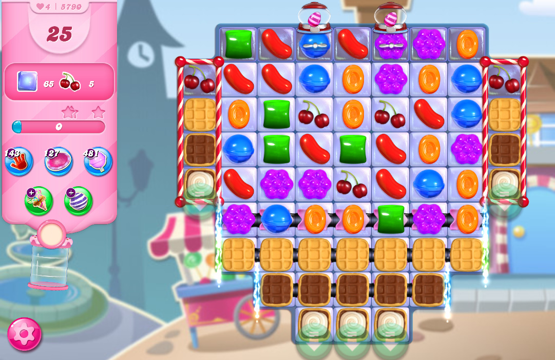Candy Crush Saga level 5790