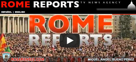 Rome Reports les desea Feliz Navidad | Rosarienses, Villa del Rosario