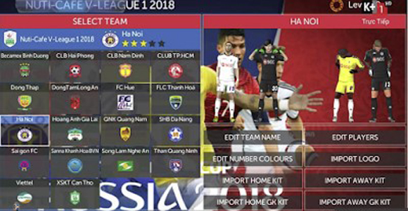 FTS 18 Mod FIFA World Cup 2018 for Android