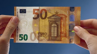 Πρεμιέρα σε λίγες μέρες για το νέο χαρτονόμισμα των 50 ευρώ