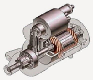 1. Motor starter jenis Planetary