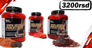 whey protein za misicnu masu