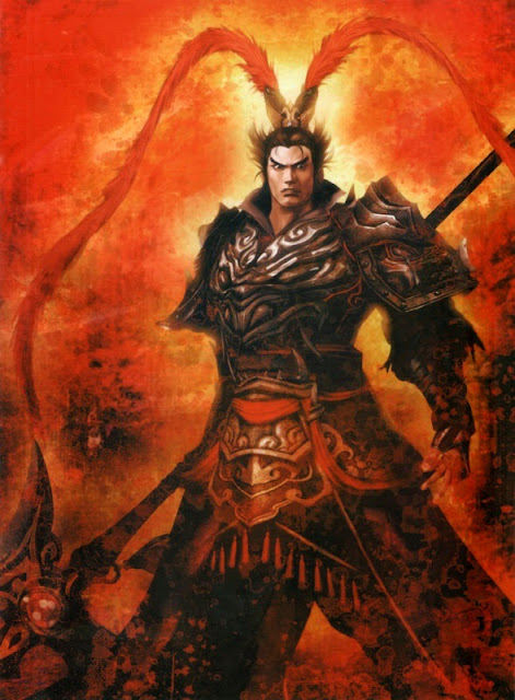 Chapter 16 : In The Camp Gate, Lu Bu Shoots The Halberd; At River Yu, Cao Cao Suffers A Defeat.
