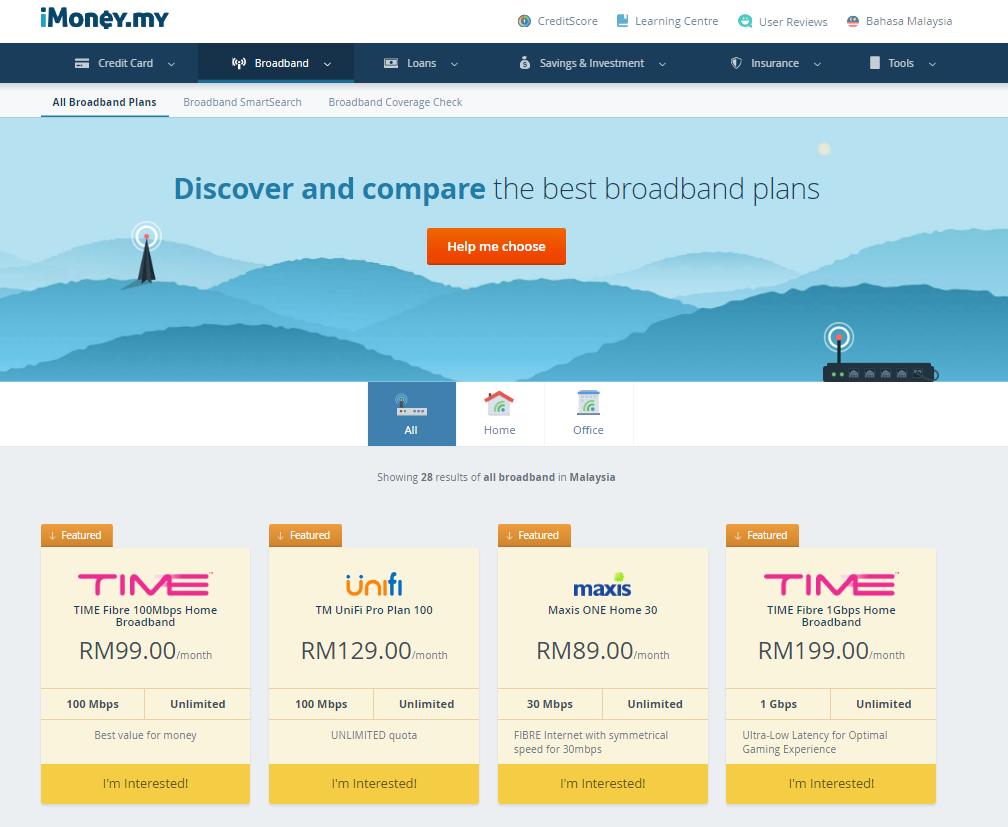 iMoney - Pelan Internet Terbaik Di Malaysia