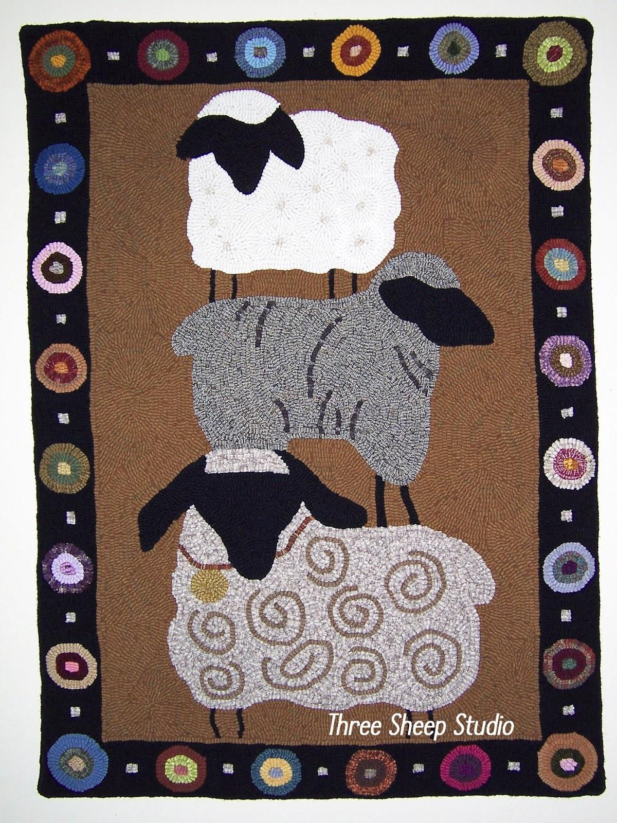 Three sheep - photo#33