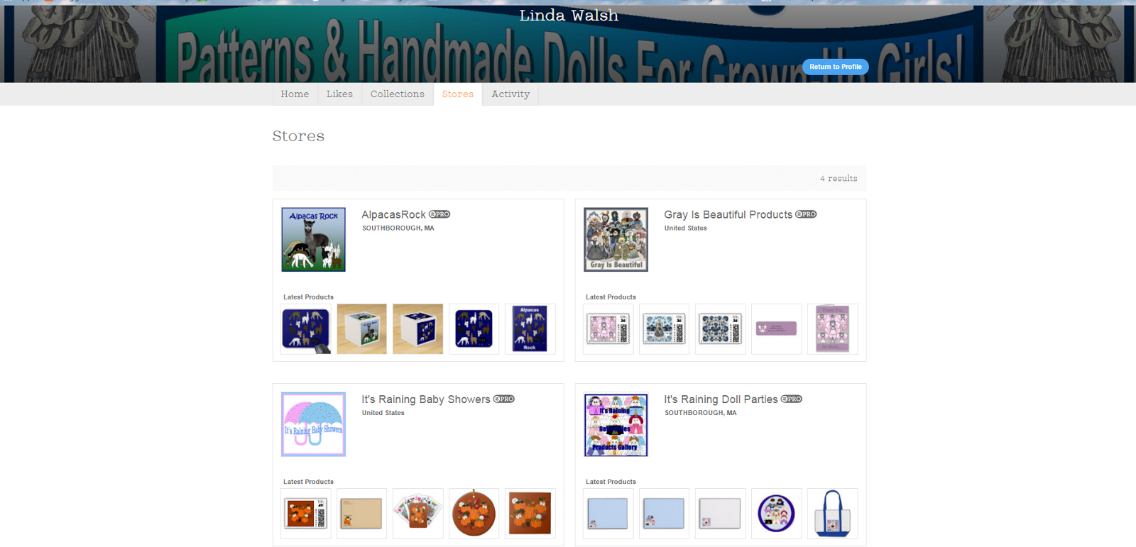 My Zazzle Gallery Stores