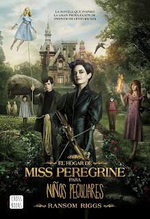 Resultado de imagen de el hogar de miss peregrine cross books