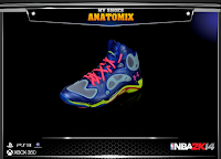 NBA 2K14 Under Armour Anatomix
