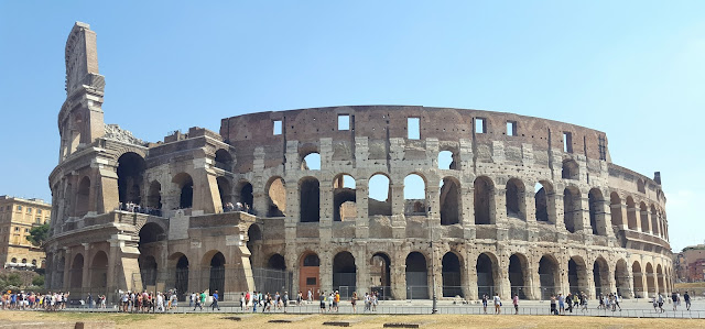 Rome Colosseum; working in travel
