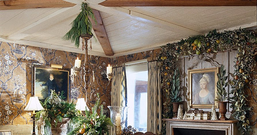 Hydrangea Hill Cottage French Country Decorating: Hydrangea Hill Cottage: French Country Christmas At The Cabin