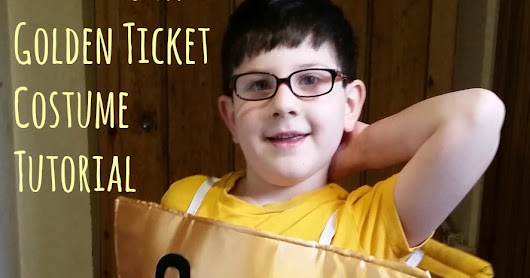 How to Make a Willy Wonka Golden Ticket Costume for World Book Day