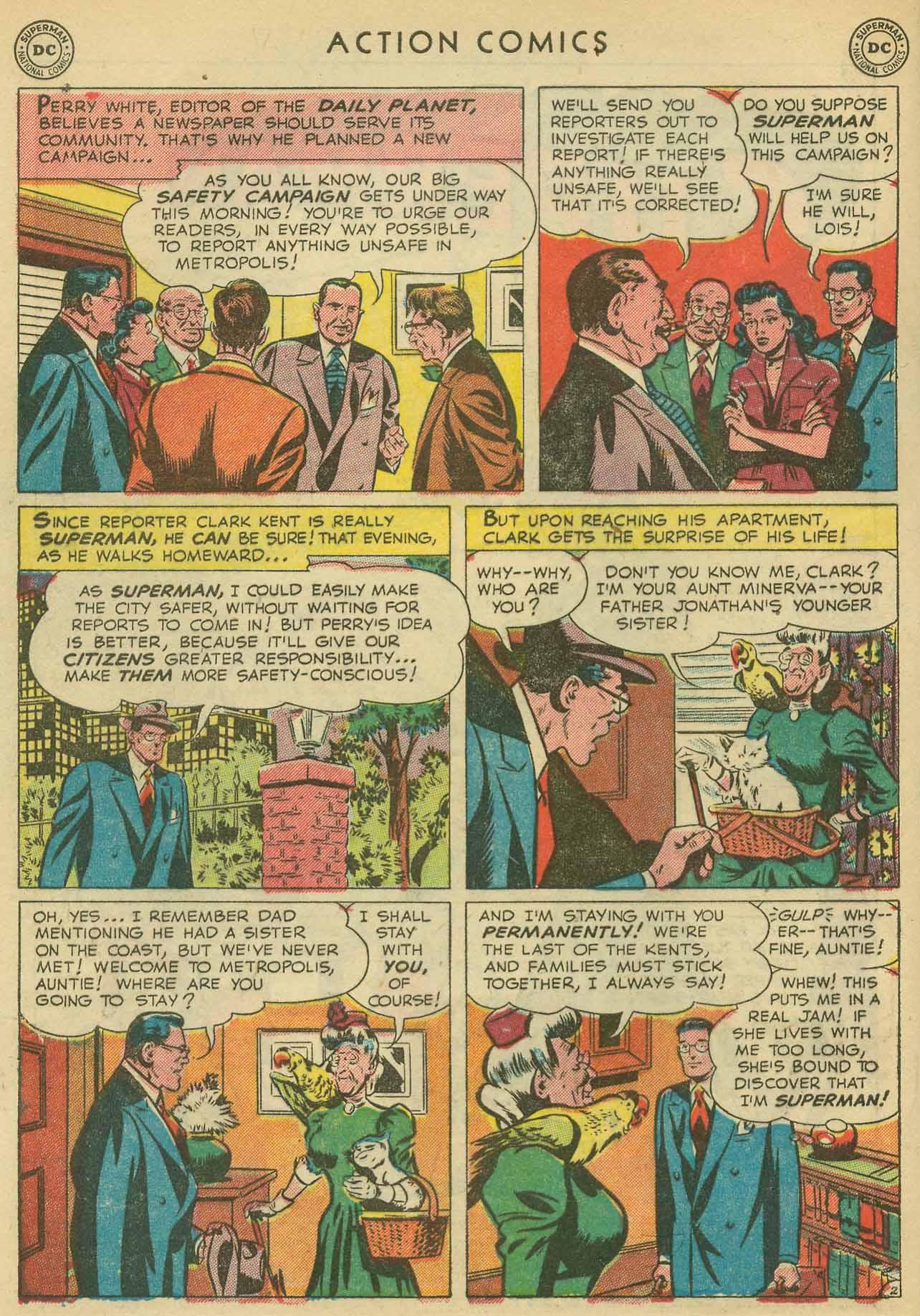 Action Comics (1938) 160 Page 3