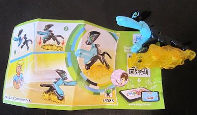 XLR-8 Ben 10 alien toy