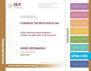 Consejo Técnico Escolar Séptima Sesión CTE