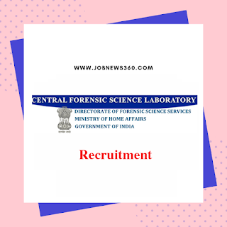 CFSL Hyderabad Recruitment 2019 for Laboratory Attendant posts (5 Vacancies)