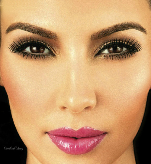 miss.makeup.addict: Kim Kardashian Makeup Inspiration ...