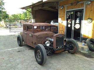 Lapak Mobil Tua Modifikasi Ford 1936 Hotrod