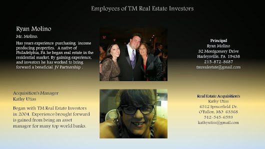 Employees of TM Real Estate Investors