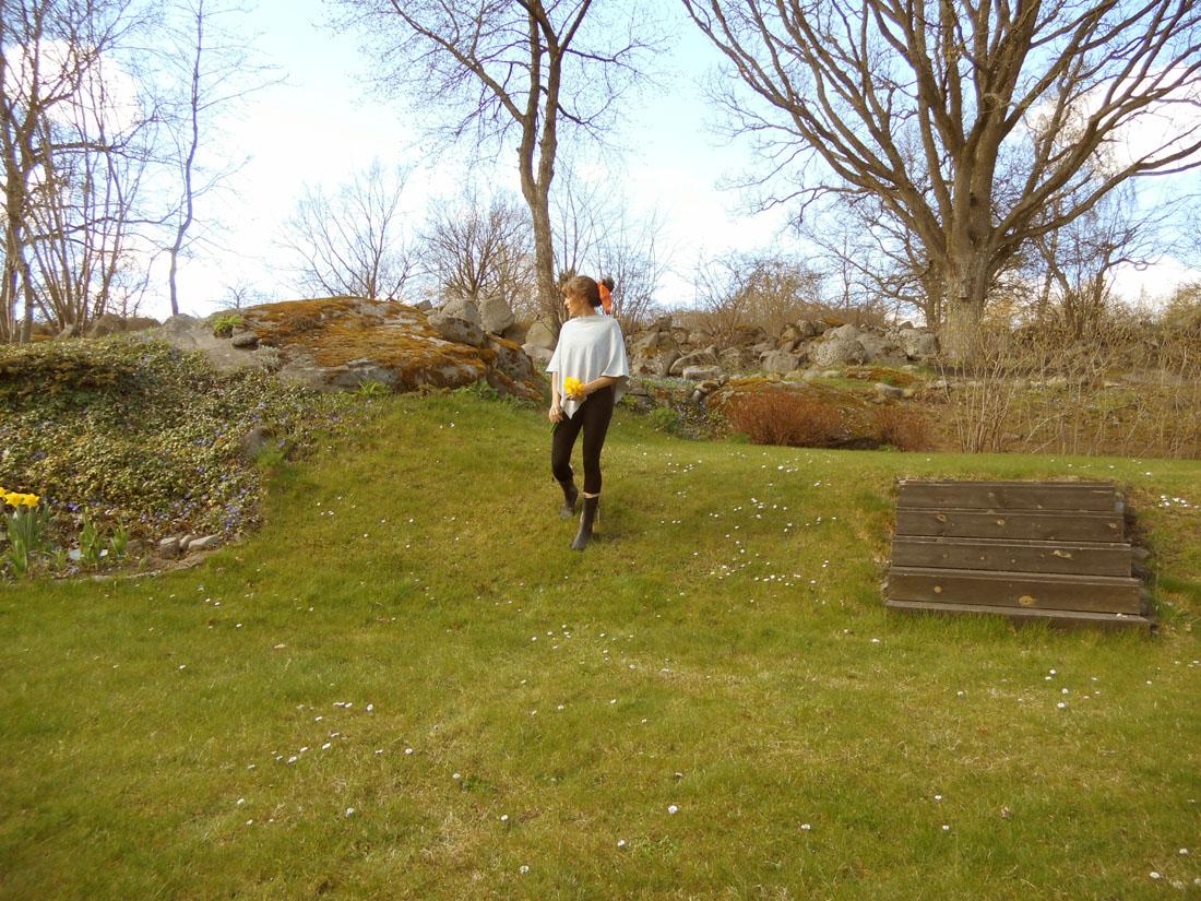 Io in giardino, 20 aprile 2016