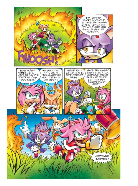 Read online Sonic Comics Spectacular: Speed of Sound comic -  Issue # Full - 196