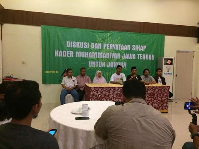 Pencatutan Nama Muhammadiyah Jateng dalam Deklarasi Dukung Paslon 01