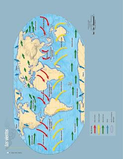 Apoyo Primaria Atlas de Geografía del Mundo 5to. Grado Capítulo 2 Lección 3 Los Vientos