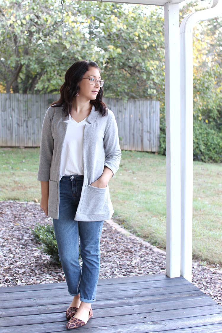 Fulton Sweater Blazer // Sewing For Women