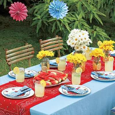 Backyard Decorating Ideas For Parties picture