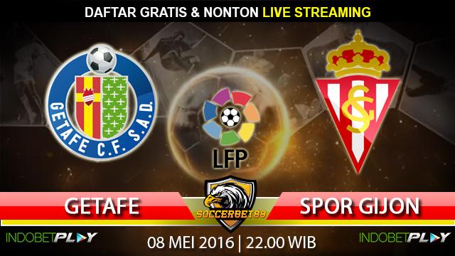 Prediksi Getafe vs Sporting Gijon 08 Mei 2016 (Liga Spanyol)