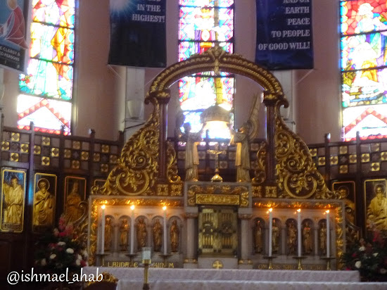 Tabernacle of Baguio Cathedral