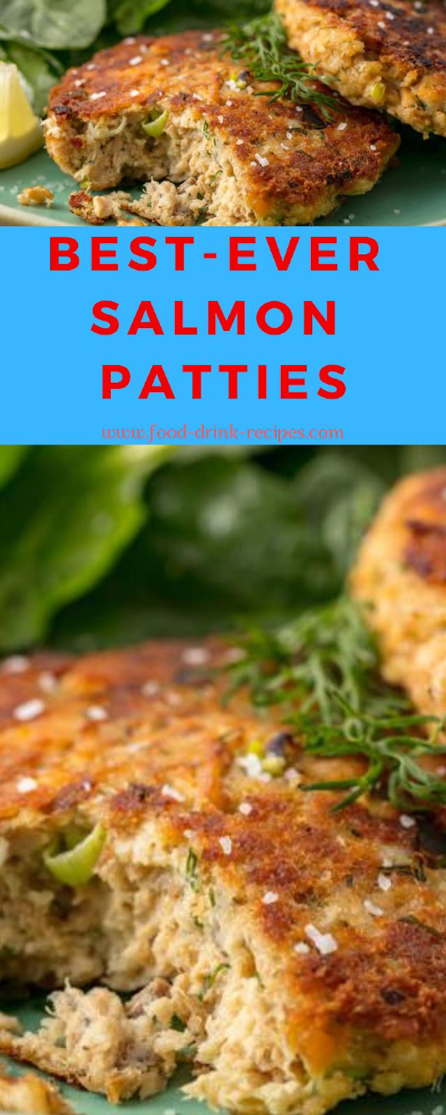 Best-Ever Salmon Patties
