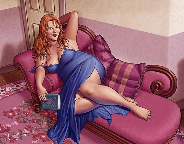 Почему пышные женщины настоящие царицы постели! 7 причин!