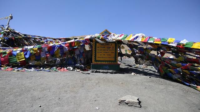 Leh Ladakh Bike Trip, Tanglang La Pass
