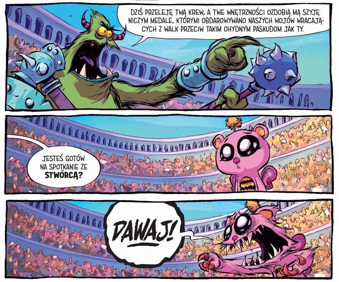 nienawidzę baśniowa, recenzja komiksu, non stop comics