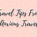 Travel Tips From An Anxious Traveller