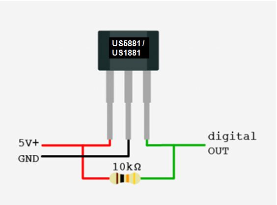 Blog of Wei-Hsiung Huang: How to use a hall effect sensor