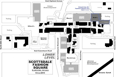 MALL HALL OF FAME October - Scottsdale fashion square map
