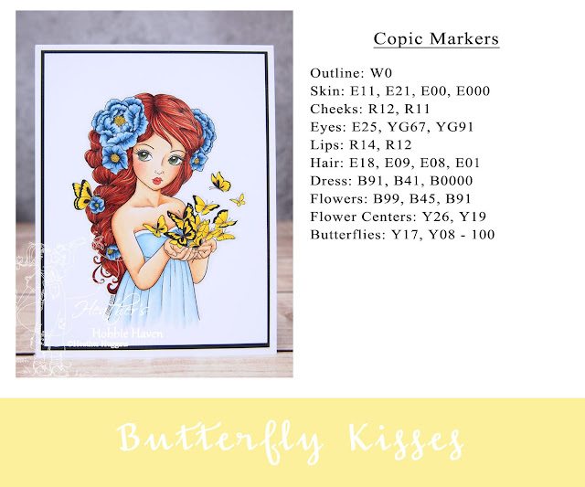 Heather's Hobbie Haven - Butterfly Kisses Card