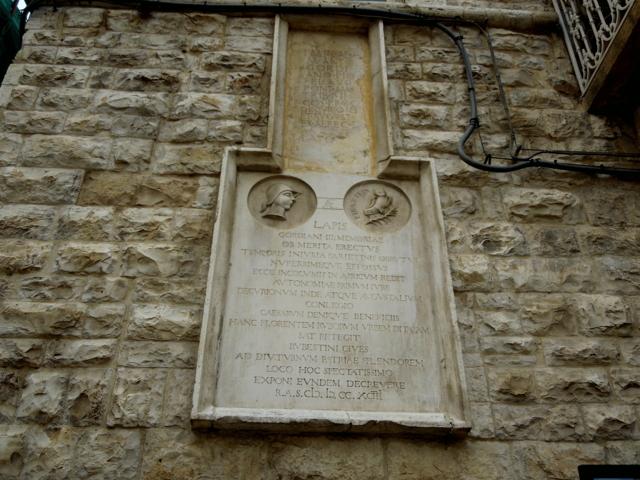 Epigrafe Ruvo di Puglia